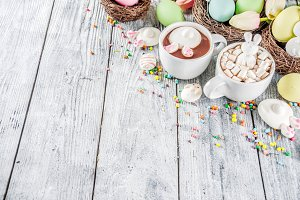 Easter funny hot chocolate