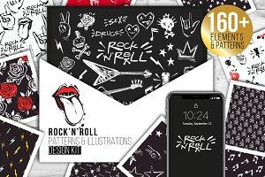 Rock-n-Roll Elements set & Patterns