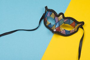 Colorful party mask