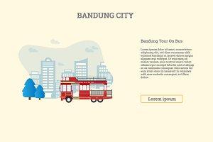 Bandung Tour on Bus, Bandung City