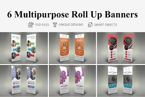 Pet Shop Roll Up Banners