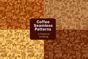 Coffee Patterns set