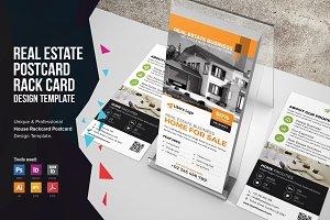 Real Estate Postcard & Rackcard v1