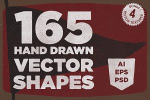 165 Vector Shapes + Bonus