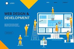 Web Design and Development Card