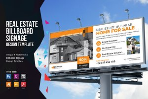 Real Estate Billboard Signage v1