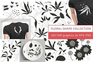 Floral Shape Collection