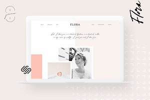 Squarespace Kit: Flora