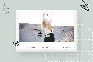 Squarespace kit: Dot.