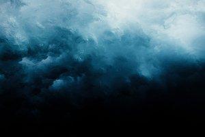 Wave under water