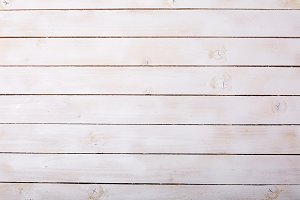 White wood surface as a background t