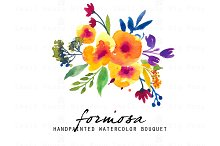 Formosa - Watercolor Clip Art Set