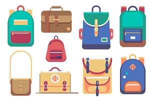Backpacks Set (+BONUS!)