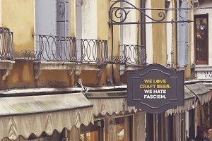 Venetian Wrought Iron Balconies