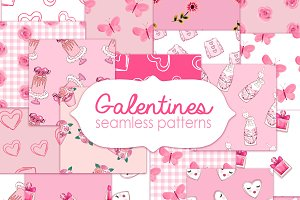 Galentines clipart