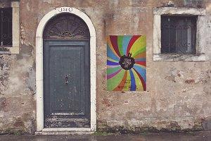 Venetian Old Front Door | Poster