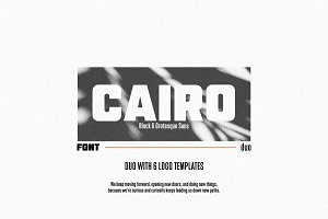 Cairo   A Complementary Sans Duo