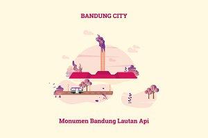 Bandung City of Indonesia
