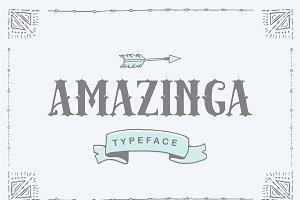 Amazinga Typeface