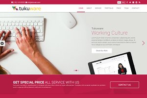 Tukuware HTML5 One Page