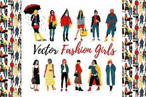Fashion Girls Collection+Planner