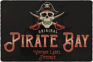 Pirate Bay Typeface