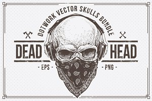 Dead Head | Vector Skulls Bundle