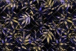Bamboo Leaves - Seamless Pattern