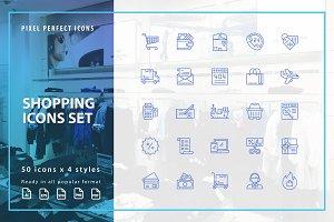 Shopping / E-commerce Icons Set