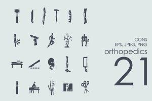 21 orthopedics icons