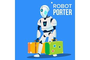 Robot Porter Carries A Lot Of