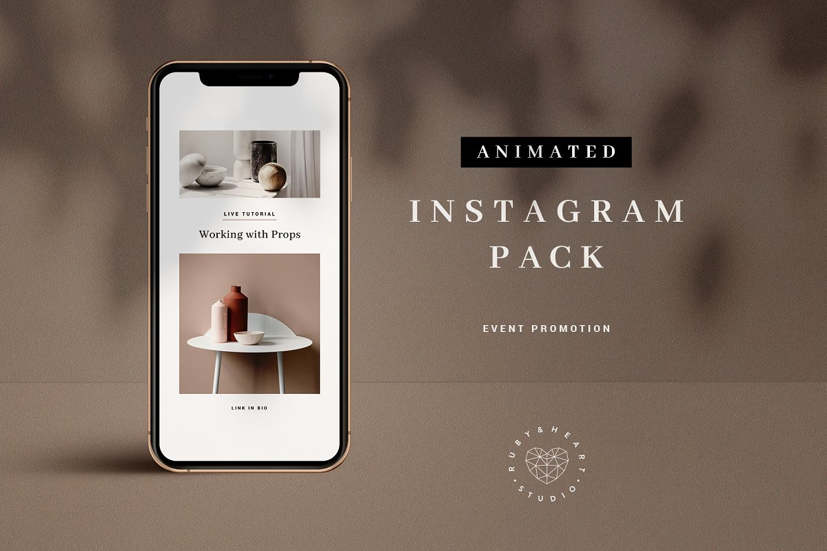 Animated Event Promo Instagram Pack