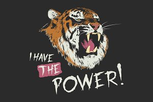 Tiger have the power