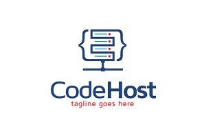 Code Host Logo Template