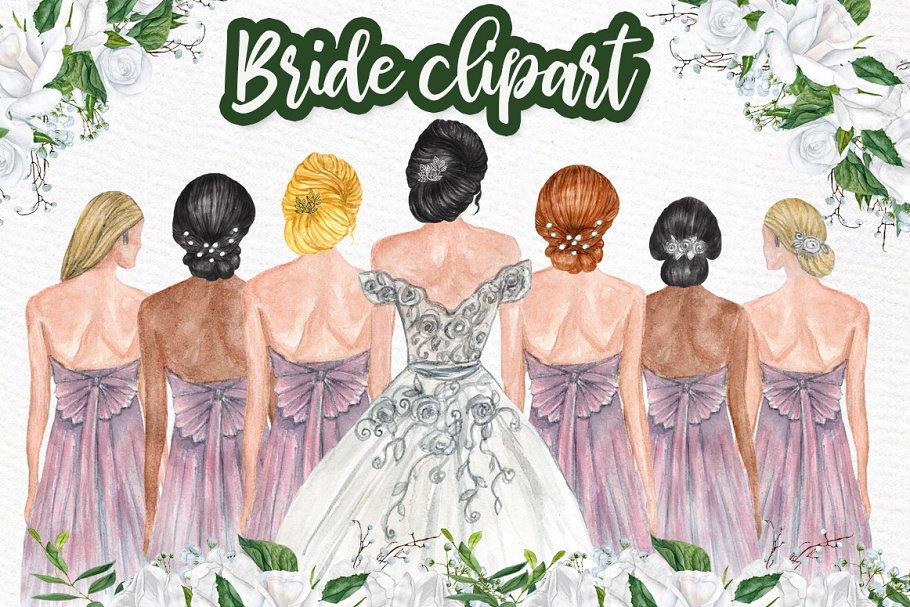 Bridesmaid Clipart, Transparent PNG Clipart Images Free Download -  ClipartMax