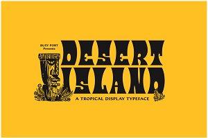 Desert Island Typeface