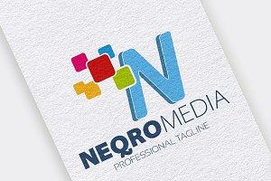 N Letter Digital Logo