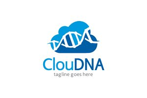 Cloud DNA Logo Template