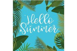 Hello Summer time wallpaper, fun