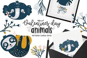 Valentine's Day - Animals Clipart