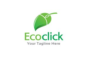 Eco Online Logo Template