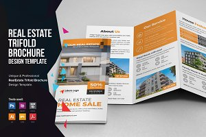 Real Estate Trifold Brochure v2