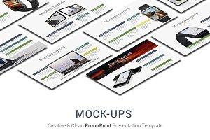 Mock-ups PowerPoint Template