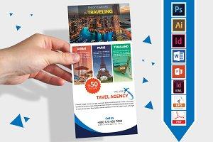 Rack Card | Travel Agency DL Flyer-2