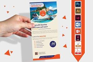 Rack Card | Travel Agency DL Flyer-3