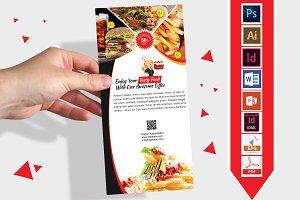 Rack Card | Restaurant DL Flyer V-01