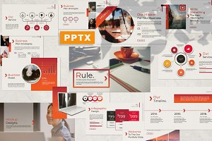 Rule Powerpoint Template