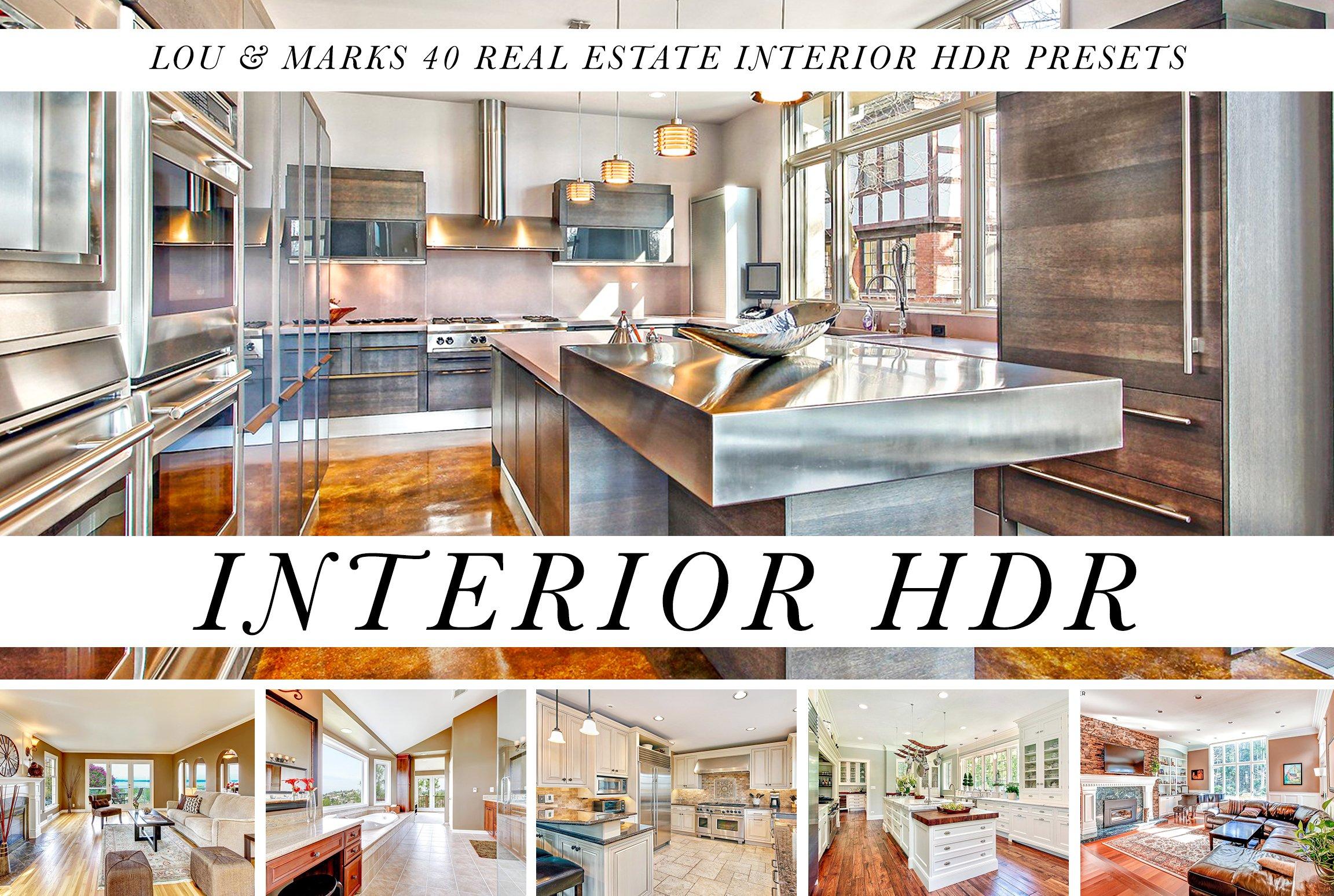 21 HDR Interior Real Estate Presets   Unique Lightroom Presets ...