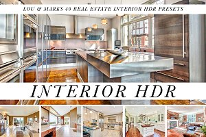 40 HDR Interior Real Estate Presets
