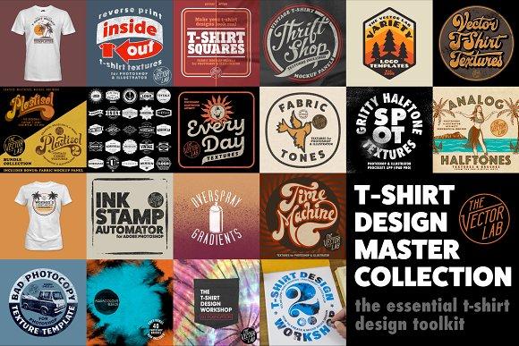 a24de656d T-Shirt Design Master Collection ~ Graphics ~ Creative Market